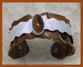 Tiger Eye Copper Cuff