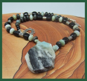 Stone Soup collection in Amazonite