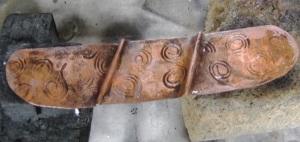 Sacred Spiral Design bracelet
