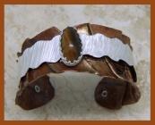 Tiger Eye Copper Cuff