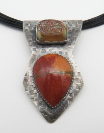 Red Creek Jasper Drusy